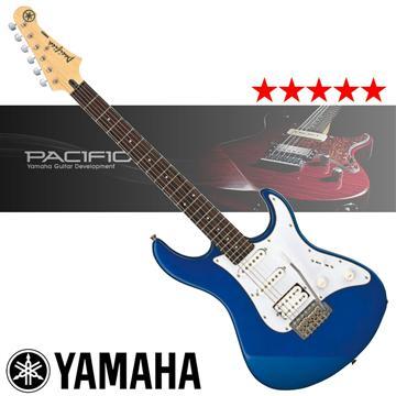 YAMAHA 入門款電吉他-藍(PACIFICA012)