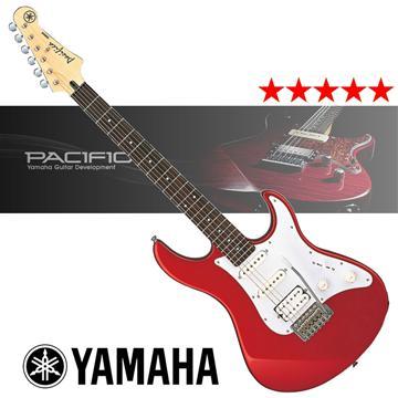 YAMAHA 入門款電吉他-紅(PACIFICA012)
