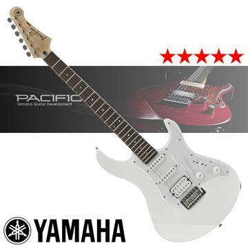 YAMAHA 入門款電吉他-白(PACIFICA012)