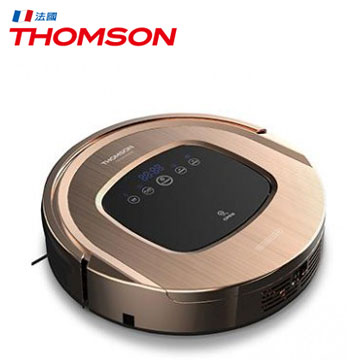 THOMSON智慧型機器人掃地吸塵器(土豪金)