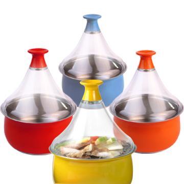 【福利品】吉吉吉吉蒸煮鍋-黃色