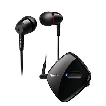 PHILIPS二代立體聲藍牙耳機SHB5100(SHB5100BK)