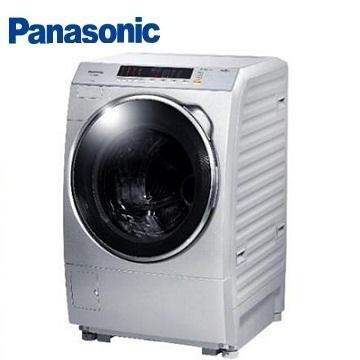 Panasonic 14公斤ECONAVI洗脫滾筒洗衣機(NA-V158BW-L(炫亮銀))