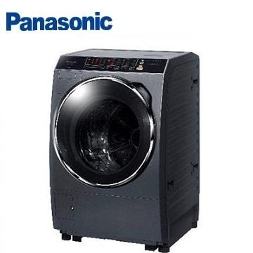 Panasonic 13公斤ECONAVI洗脫烘滾筒洗衣機(NA-V130BDH-G(晶燦銀))