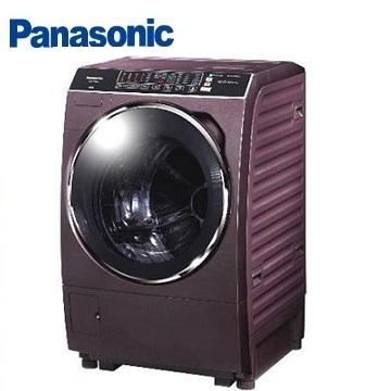 Panasonic 15公斤ECONAVI洗脫烘滾筒洗衣機(NA-V168BDH-V(晶燦紫))