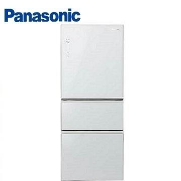 Panasonic 500公升ECONAVI三門玻璃變頻冰箱(NR-C508NHG-W(翡翠白))