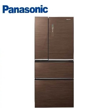 Panasonic 610公升ECONAVI四門玻璃變頻冰箱(NR-D618NHG-T(翡翠棕))