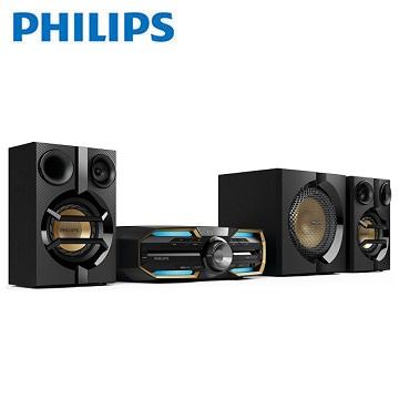 【福利品】PHILIPS 2.1聲道/NFC/藍牙/DVD 組合音響