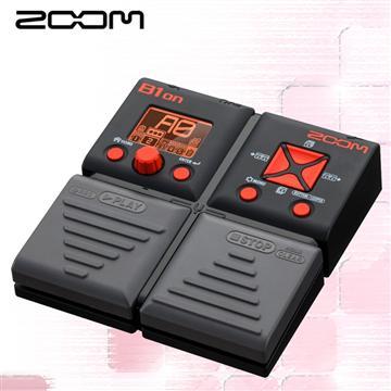 ZOOM 電貝斯綜合效果器(B1on)