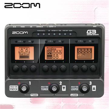 ZOOM 電吉他綜合效果器(G3)