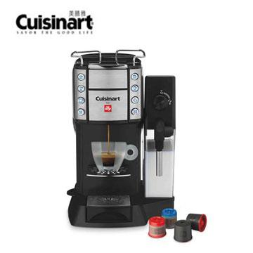 【福利品】美膳雅頂級Espresso膠囊咖啡機 EM-600TWBK