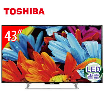 TOSHIBA 43型LED液晶顯示器(43P2550VS(視160829))