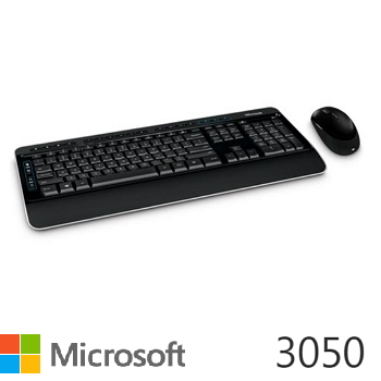 Microsoft 無線鍵盤滑鼠組3050(PP3-00025)