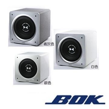 BOK 15吋1000瓦主動式超低音喇叭-鐵灰(KC-1000-鐵灰)