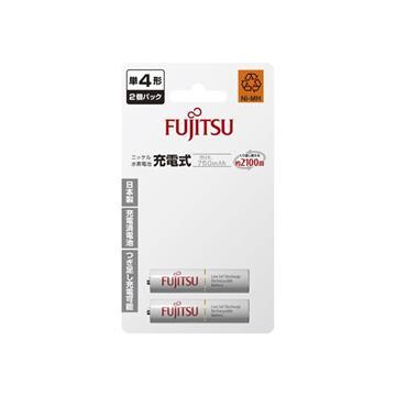 日本富士通低自放電充電電池-4號2入750mAh(HR-4UTC (2B))