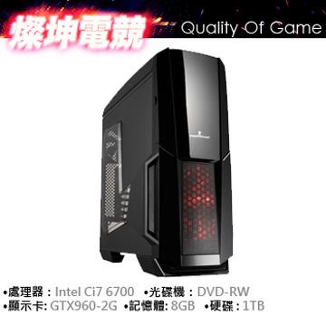華碩 i7-6700 8G 1TB GTX960 電鏡獨顯(i7-6700)