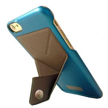 【iPhone 6/6S Plus】Spree 可站立背蓋-金屬藍(SP-BC101-239)