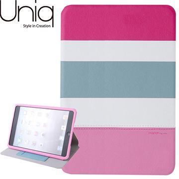 Uniq iPad mini 1&2 March真皮保護套-粉紅(UNIQ-PDMDAP-MARPNK)