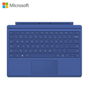 微軟Surface Pro 4實體鍵盤(藍)(QC7-00081)