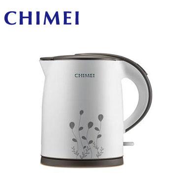 [福利品] CHIMEI 1.7L雙層防燙不鏽鋼快煮壺
