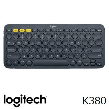羅技K380跨平台藍牙鍵盤-黑(920-007592)