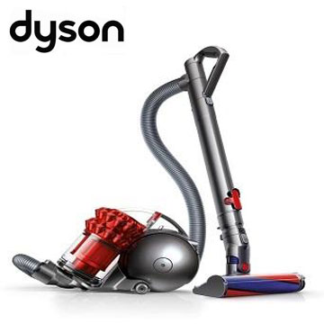 dyson Ball fluffy+圓筒式吸塵器(紅)