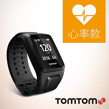 TOMTOM SPARK 心率健身運動手錶-寬錶帶(FIT Cardio BLK-L)