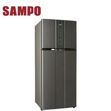 聲寶 535公升1級二門變頻冰箱(SR-N53D(K2))