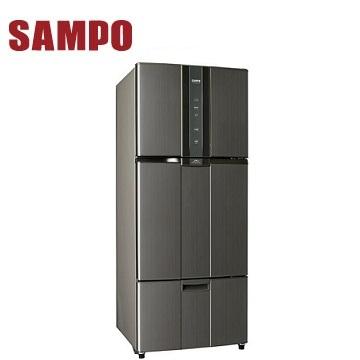 聲寶 530公升1級三門變頻冰箱(SR-N53DV(K2))