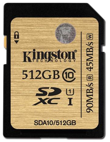 金士頓SDA10 U1 512G記憶卡(SDA10/512GB)