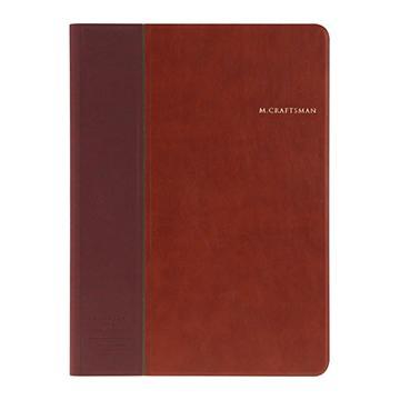 【iPad mini4 】M.CRAFTSMAN多角度保護套-棕