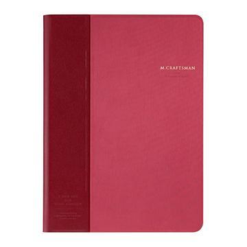 【iPad mini4 】M.CRAFTSMAN 多角度保護套-紅