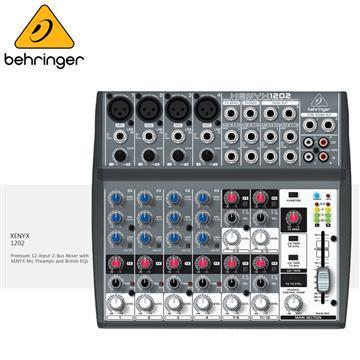 Behringer耳朵牌 XENYX混音器(1202)