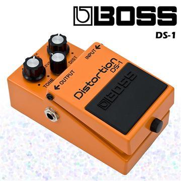 BOSS 失真破音/過載效果器經典款(DS-1)