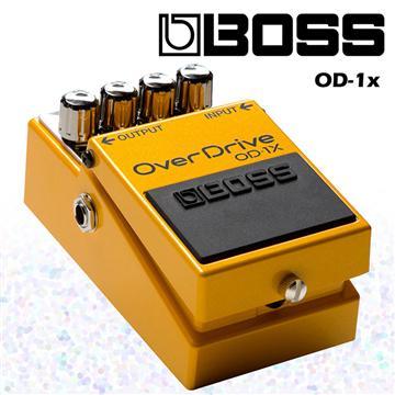 BOSS 單顆破音效果器 OverDrive特別版(OD-1X)