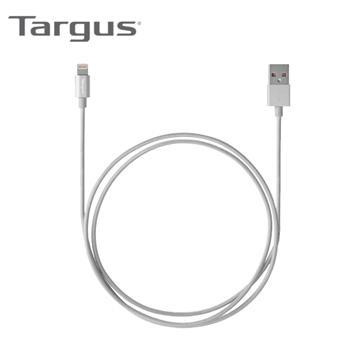 【1.2M】Targus MFI认证8PIN 编织传输线-银(ACC99405AP)