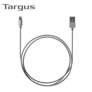 【1.2M】Targus MFI认证8PIN 编织传输线-黑(ACC994AP)
