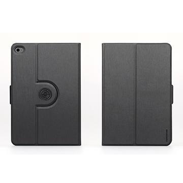 Tunewear iPad mini 4 旋轉站立皮套-深灰(TW-IPADM4-FL360-01GR)