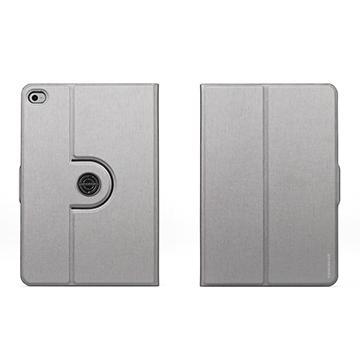 Tunewear iPad mini 4 旋轉站立皮套-銀(TW-IPADM4-FL360-01S)
