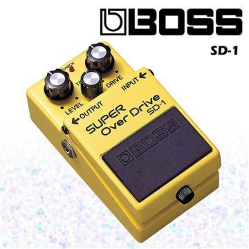 BOSS 超級破音失真效果器 Super Diver(SD-1)