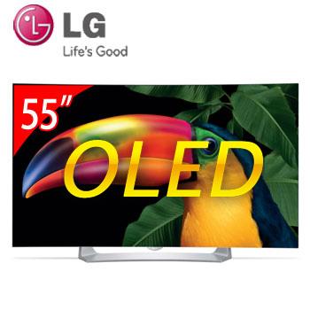 LG 55型 曲面OLED智慧型液晶電視(55EG910T)