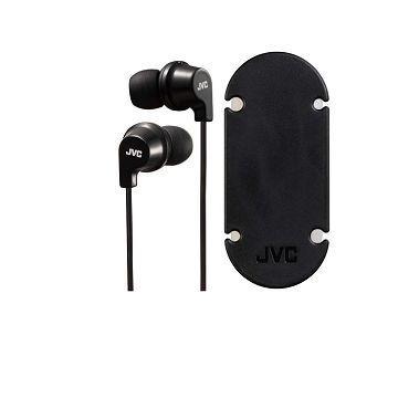 JVC HA-FR21耳道式耳機-黑(HA-FR21-B)