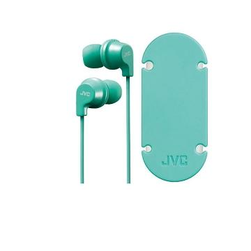 JVC HA-FR21耳道式耳機-粉綠(HA-FR21-Z)