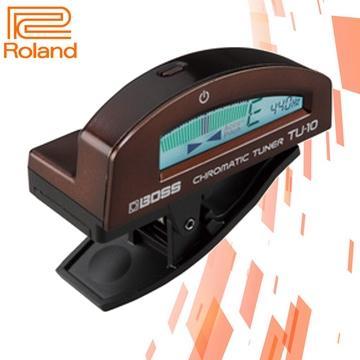 Roland 高度感應夾式調音器-咖啡(TU-10)