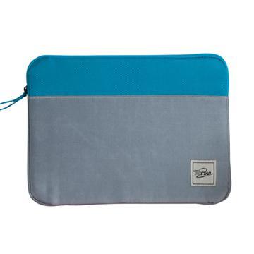 T.C.STAR 10吋雙色拉鍊式平板保護套-藍(BAG-SLE100BU)
