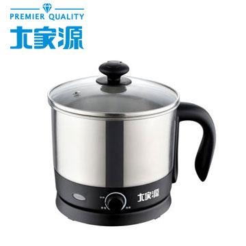 大家源1.2L 304不鏽鋼美食鍋(TCY-2741)