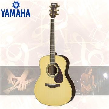 YAMAHA L系列 錄音級民謠吉他-原木色(LL6 ARE/NT)