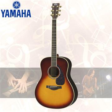 YAMAHA L系列 錄音級民謠吉他-漸層色(LL6 ARE/BS)