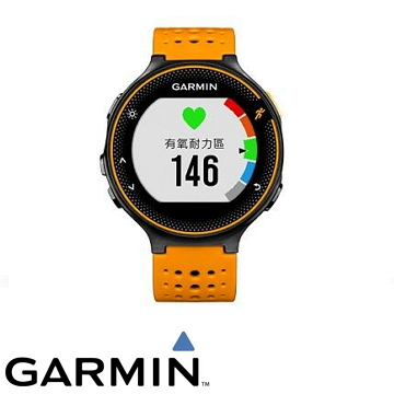 Garmin FR235腕式心率跑錶-活躍橘(Forerunner 235)