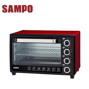聲寶30L雙溫控油切炫風烤箱